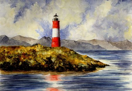 realism: Les Eclaireurs Lighthouse