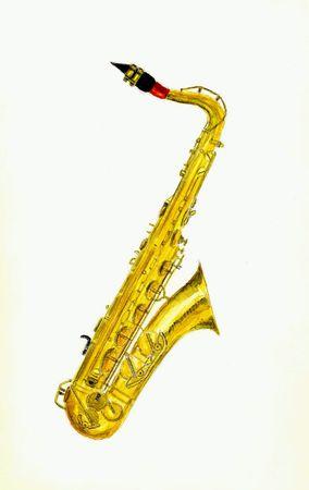Saxophone Фото со стока