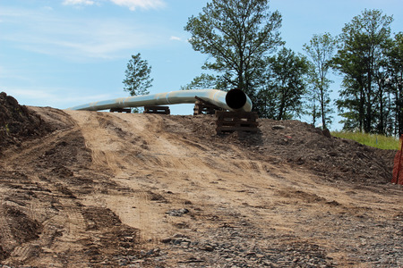 dirt: Gas Pipeline construction