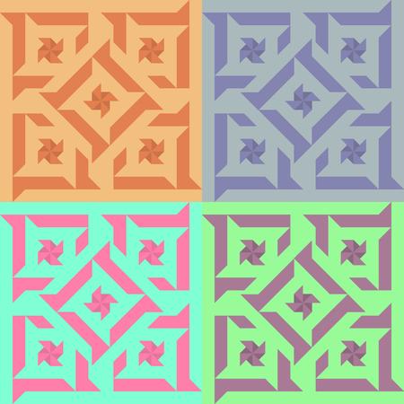 Illustration of decorative tiles Illustration