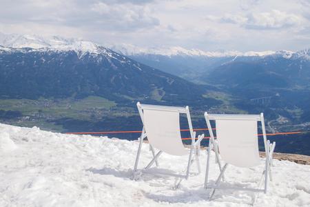 innsbruck: The Nordkette, the Karwendel Nature Park, Innsbruck, Austria