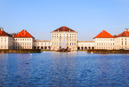 nymphenburg palace: Nymphenburg Palace (Schloss Nymphenburg), Germany Editorial