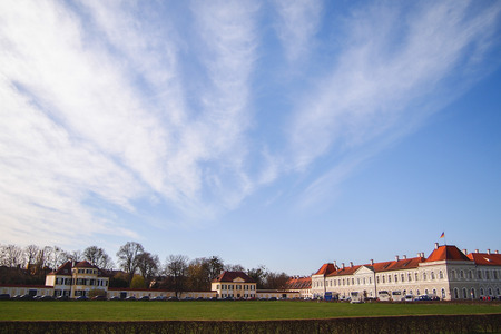 symetry: Nymphenburg Palace (Schloss Nymphenburg), Germany Editorial