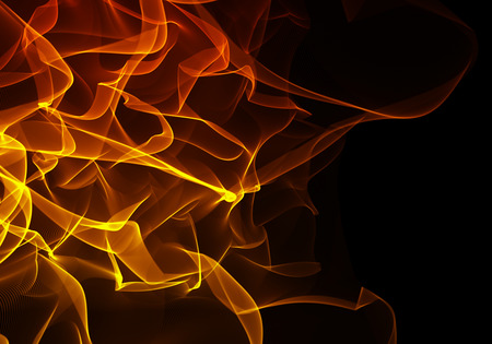glint: Abstract background Flames