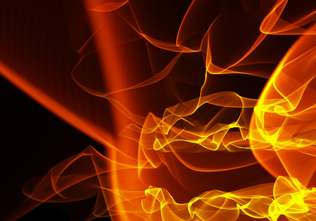Abstract background Flames