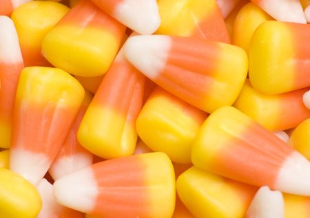 candy corn: Candy corn background Stock Photo