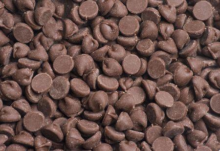 Chocolade chip achtergrond Stockfoto