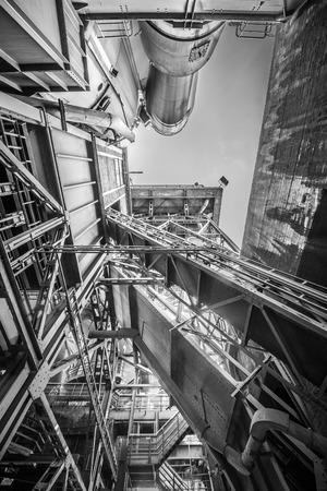 Viejo planta industrial Foto de archivo - 42961551
