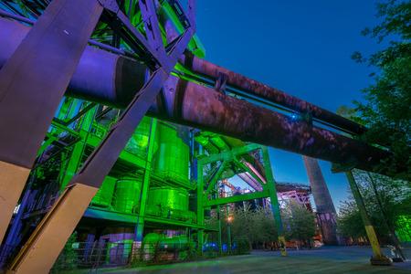 nightvision: Industrial night portrait