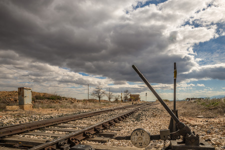railtrack: Abandoned railway track