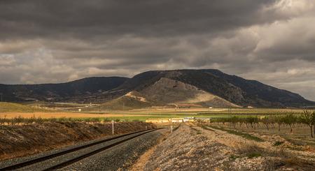 railtrack: railway tracks