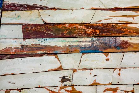 Background painted planks