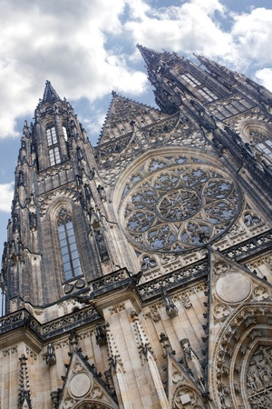 Gothic Prague Saint Vitus photo