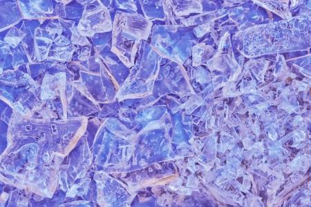 close-up shot of a colorful crystal bachground photo