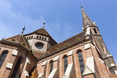 buda: tir de printemps de Buda Reformed Church, Budapest