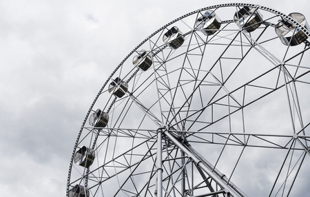 urals: New Ferris wheel in Pervouralsk, Urals, Russia