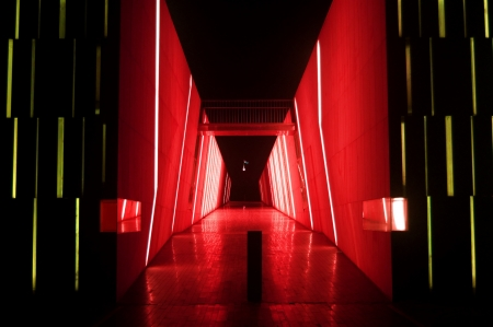 red alley