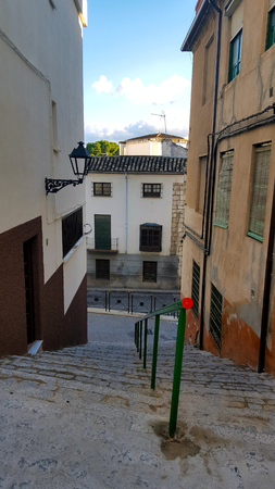 stairs in a street Imagens - 106960383