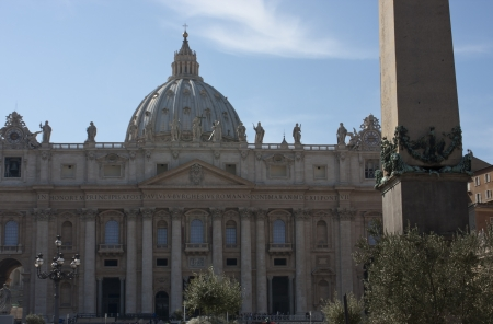Facade of the St  Peter