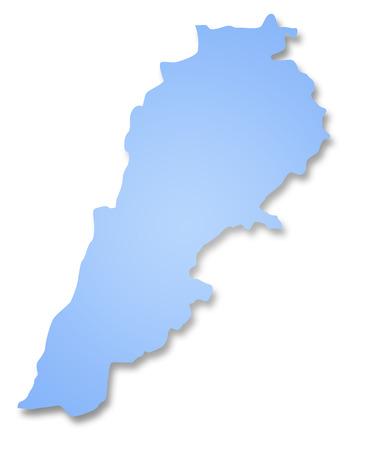 lebanon: Map of Lebanon