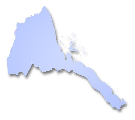 eritrea: Map of Eritrea