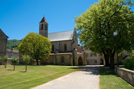 chartreuse: Chartreuse Saint-Sauveur, Villefranche-de-Rouergue, France Stock Photo