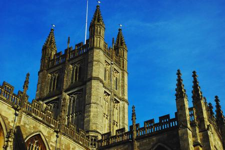 bath: Bath Cathedral Stock Photo