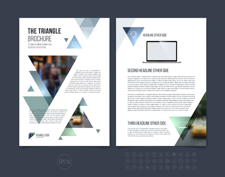 Over Design Brochure Template Layout Annual Report Magazine