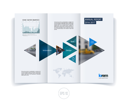 layout: Brochure template layout