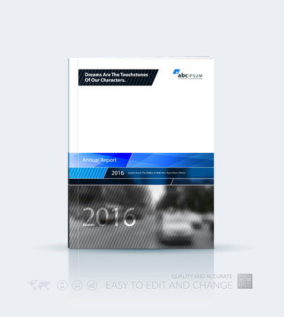 modern house: Business vector template. Brochure design, cover modern layout annual report, poster, flyer in A4 with blue abstract geometric shapes for construction, teamwork theme with texture background.