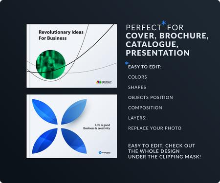Presentatie. Abstracte vectorreeks moderne horizontale sjablonen met de minimale vormen van kleurrijke cirkellijnen voor zaken, teamwerk, technologie, ecologie. Schone web headers design collectie.
