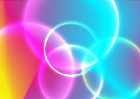 Fluid design of colorful abstract vector blend