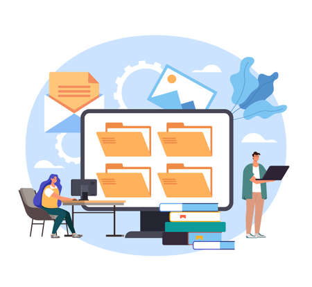 Online web internet education learning class video tutorials. Vector concept flat graphic simple illustration