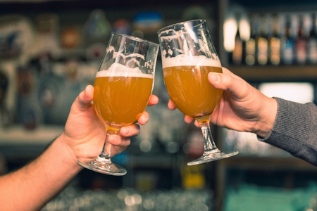 binge: Toasting with beer