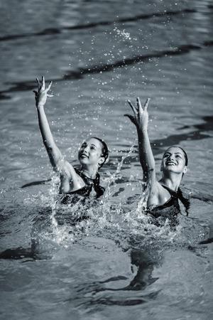 duet: Synchronized Swimmers duet