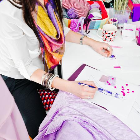 20 24: Creative work in fashion studio