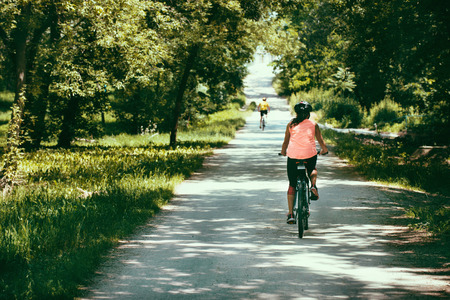 long distance: Long distance bicycle trail