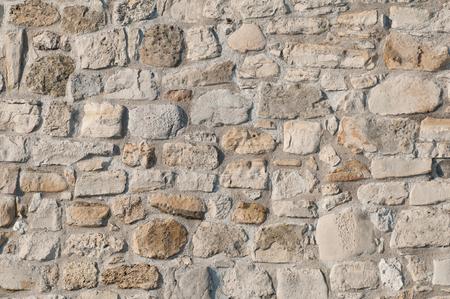 오래 된 돌 벽 배경