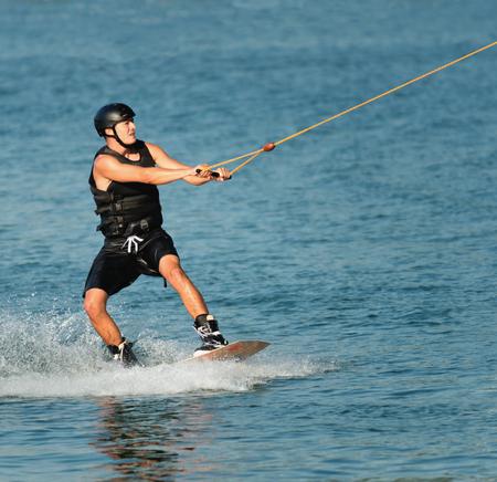 sportsman: Sportsman wakeboarding