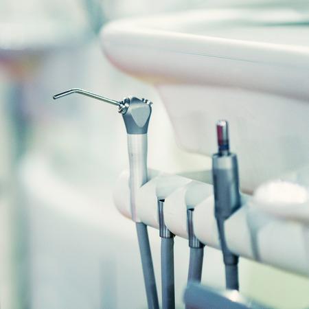 Modern dental equipment, close-up