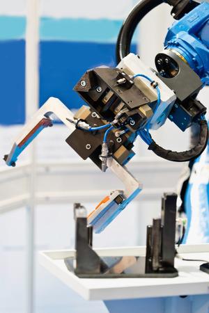 robotic: Industrial robotic arm