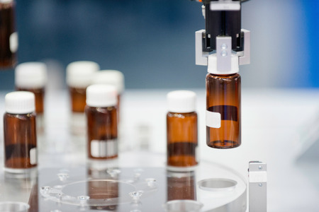 Production line in pharmaceutical company