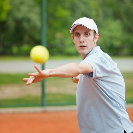 forehand: Tennis player, forehand stroke
