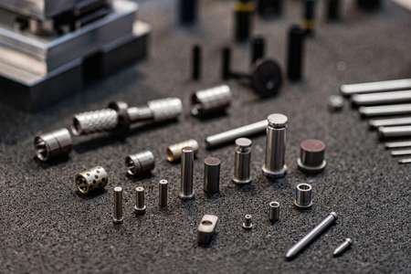 spare parts: Industrial Spare Parts Stock Photo