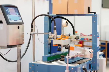 sealing: Carton sealing machine