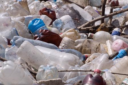 basurero: vertedero de basura de pl�stico