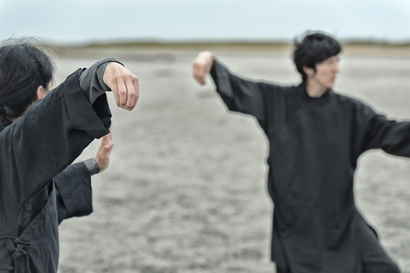 two persons only: Tai Chi Chuan, focus on hand