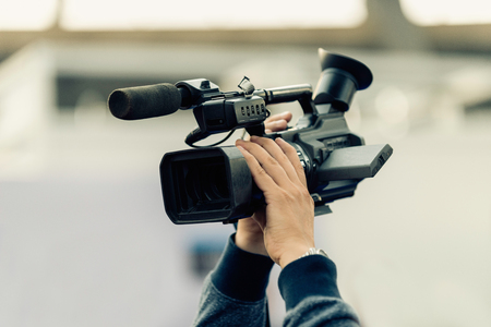 commercial event: Recording with tv camera