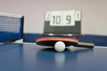 Tischtennis-Schläger Standard-Bild - 56451500