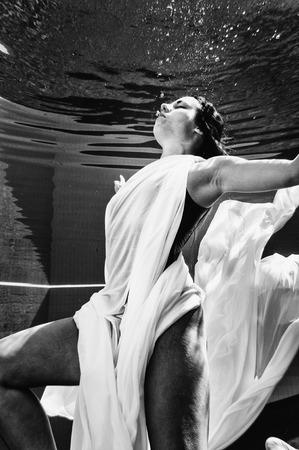 natación sincronizada: balets bajo el agua